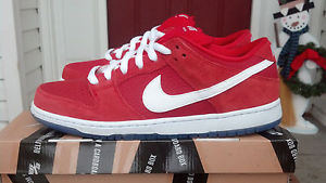 DS 2012 Nike SB Dunk Low Pro 'Challenge Red' Size 11 Air Max Trainer Janoski | eBay
