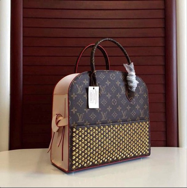 bag louis vuitton louboutin handbag luxury fashion