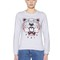Tiger embroidered cotton sweatshirt