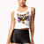 Meow Cropped Tank | FOREVER21 - 2061743672