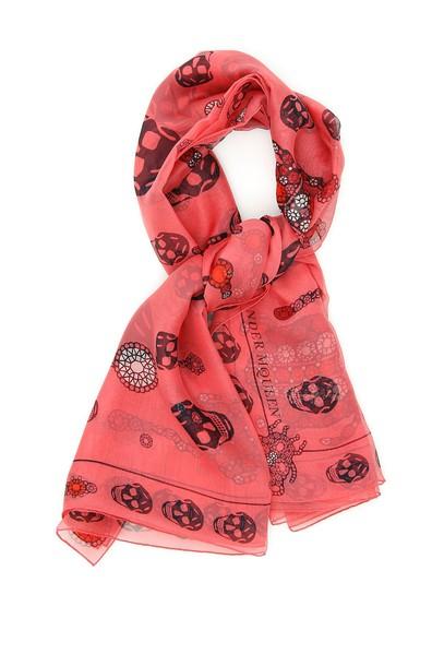 Alexander Mcqueen chiffon scarf