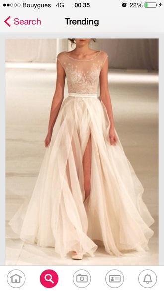 dress pastel colors lace long dresds