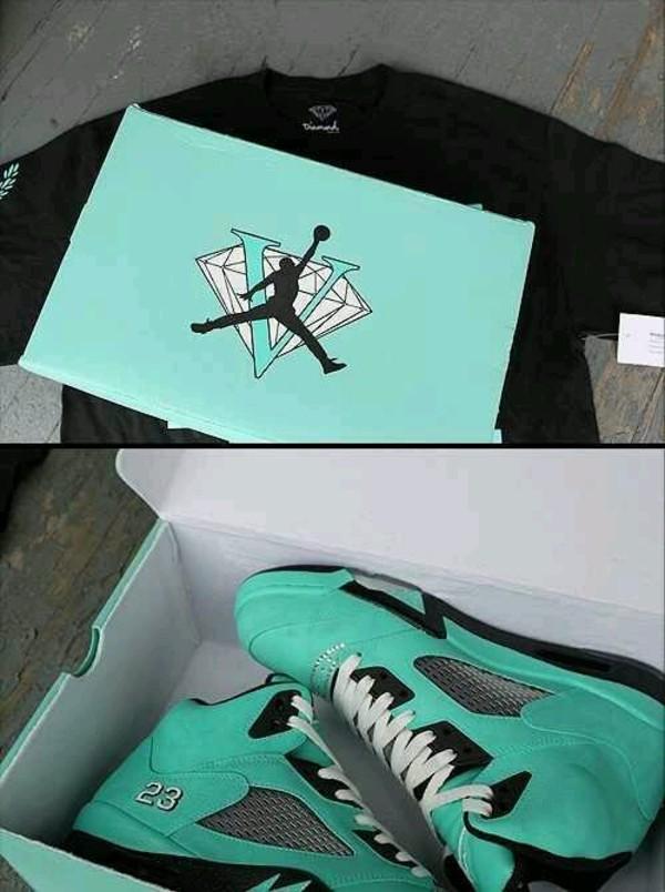 59260201e800 shoes blue air jordan tiffany 5 air jordans tiffany 5 air jordan jordans  jordans diamonds.