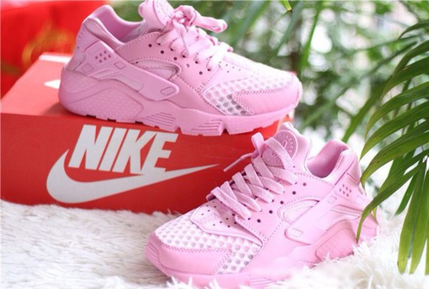d127774a4482 authentic nike huarache custom cowboys 2afec 1bf1e  release date shoes cute  dope pink girly girl girly wishlist huarache nike air huaraches huarache  pink