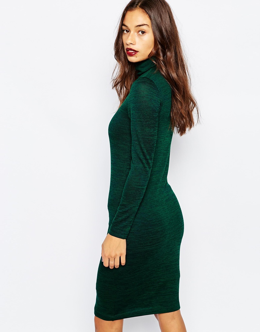 buy online wide range great quality Vero Moda Petite Roll Neck Knitted Jumper Dress at asos.com