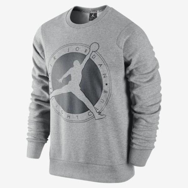 Shirt: air jordan, sweater, jacket, jordans, grey sweater ...