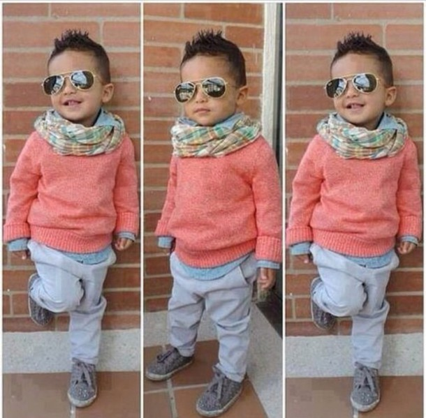scarf kids fashion