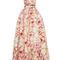 Pansy print halter gown by naeem khan | moda operandi
