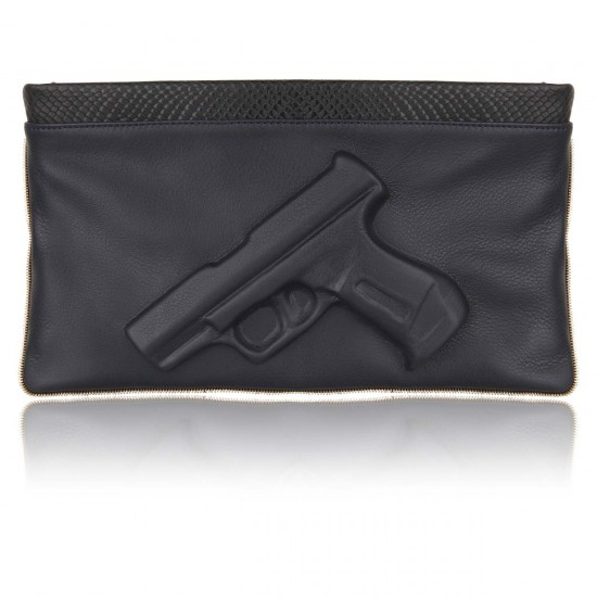 Guardian angel snake clutch gun dark blue