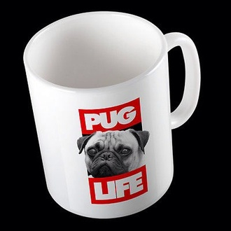 phone cover cool trendy fashion pugs dog mug
