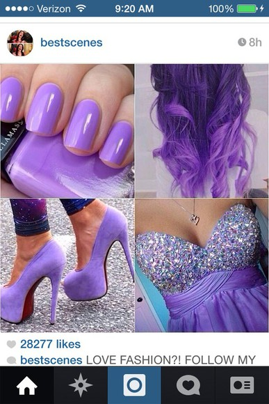 short homecoming dress purple gems
