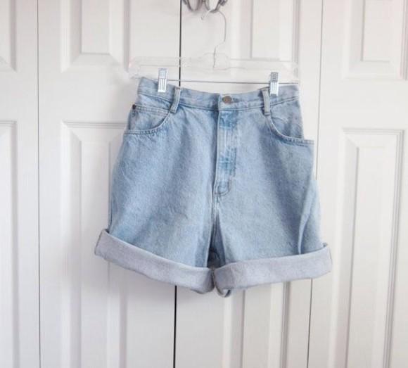 High waisted shorts denim denim shorts