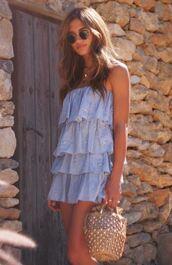 dress,mini dress,summer,summer dress,rocky barnes,blogger,instagram