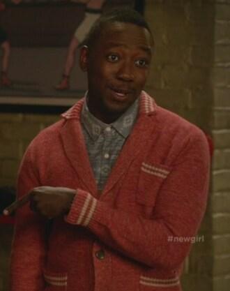 sweater lamorne morris winston bishop new girl mens sweater