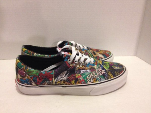 vans era marvel comics