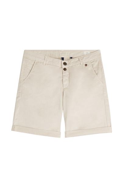 Woolrich Cotton Shorts  in beige / beige