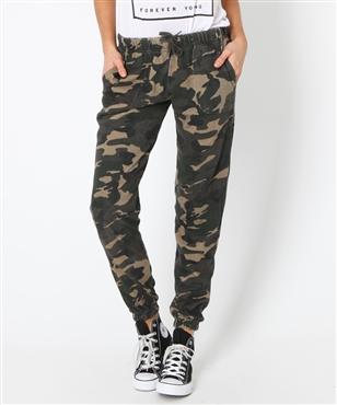 CAMO TRACK PANT | Pants   Leggings | Clothing | Shop Womens | General Pants Online