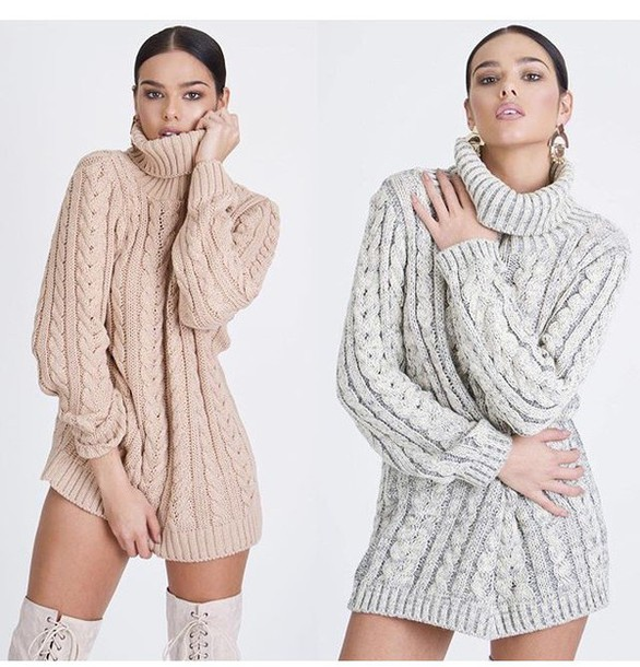 Sweater: turtleneck sweater, knitted sweater, cable knit ...