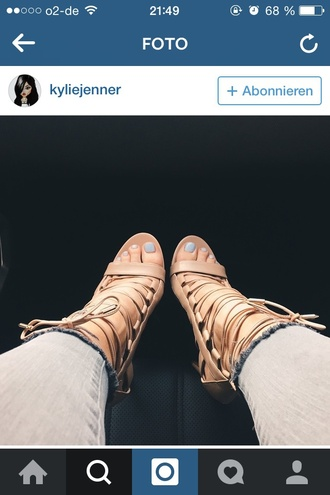 shoes nude high heels high heels kylie jenner