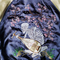 Vintage japanese japan skulls skull punk rock skeleton hell guitar sakura cherry blossoms flower floral tattoo art embroidery embroidered bomber sukajan souvenir jacket