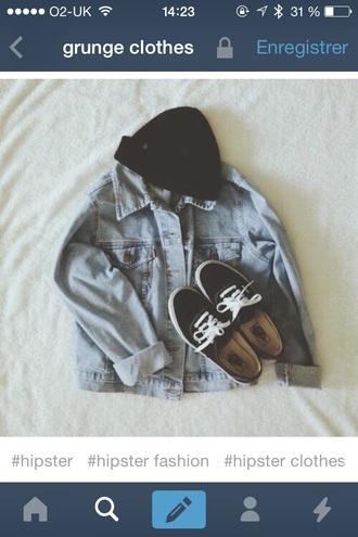 jacket rock denim jacket denim vest tumblr jacket