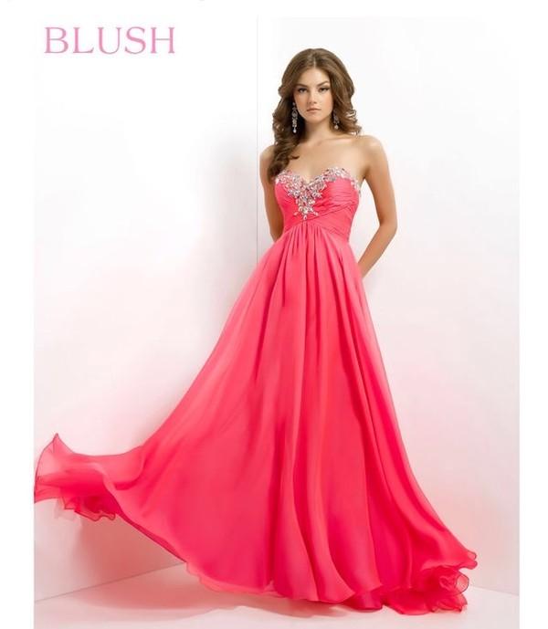 dress pink pink dress prom dress maxi dress pretty