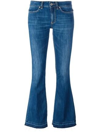 jeans neon women cotton blue