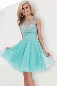Hot selling green short homecoming dresses party dresses open back cocktail dresses sweet 16 dresses