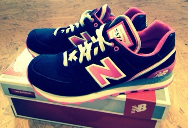 blue and pink new balance