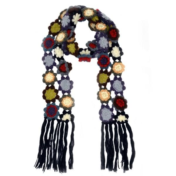 scarf pattern crochet scarf winter scarf