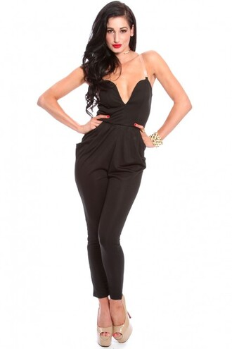 jumpsuit romper jumpsuit sexy fashion fall outfits summer outfits ootd ootn