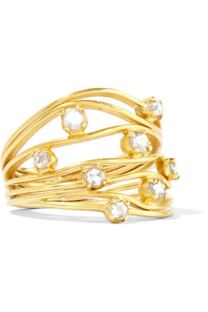 Pippa Small diamond ring ring gold jewels