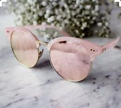 sunglasses,rose gold,pink,style,fashion,pink sunglasses,rose,peach,girly,pastel