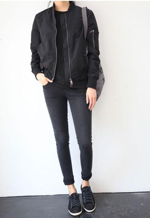 PETITE MA1 Bomber Jacket - Petite - Clothing