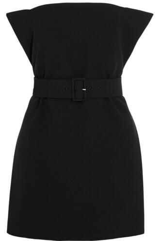 top strapless black