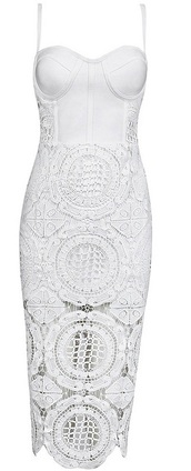 dress,dream it wear it,clothes,white,white dress,crochet,crochet dress,lace,lace dress,straps,see through,midi,midi dress,bandage,bandage dres,bandage dress,bodycon,bodycon dress,party,party dress,sexy,sexy dress,sexy party dresses,cocktail,cocktail dress,summer,summer dress,summer outfits,date outfit,girly,classy,classy dress,elegant,elegant dress