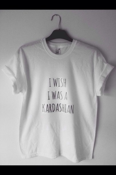 t-shirt top keeping up with the kardashians kim kardashian white white t-shirt shirt