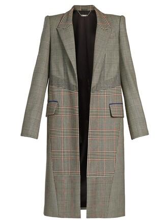 coat wool coat wool grey