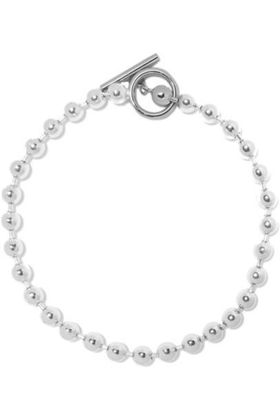 Jennifer Fisher - Orb Silver-plated Necklace