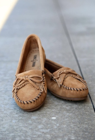 shoes brown moccasins