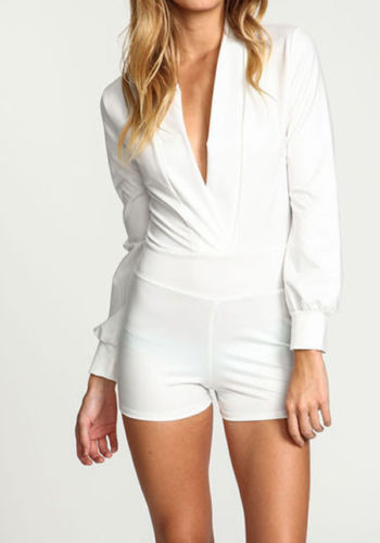 Leather romper · poppys boutique · online store powered by storenvy