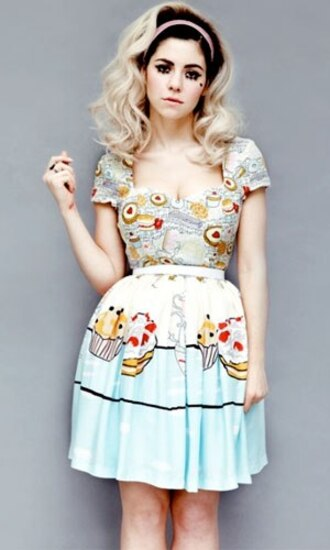 marina and the diamonds marina diamandis cupcake dress