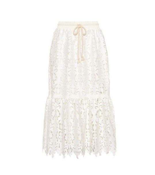 See By Chloé Lace skirt in white