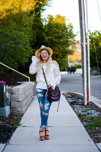 all dolled up blogger top hat sunglasses bag shoes