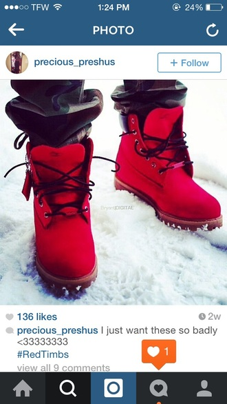 red timberlands boots timberland trill dope shoes camo pants