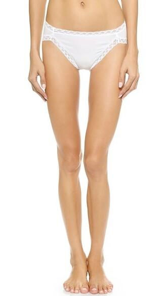 bikini white cotton swimwear