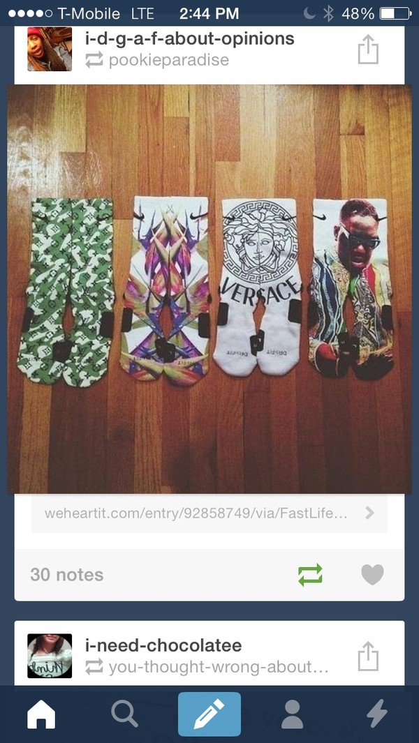 underwear socks versace biggies malls the notorious b.i.g. cute long socks long leg socks