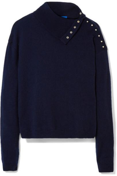 M.i.h Jeans sweater turtleneck turtleneck sweater blue