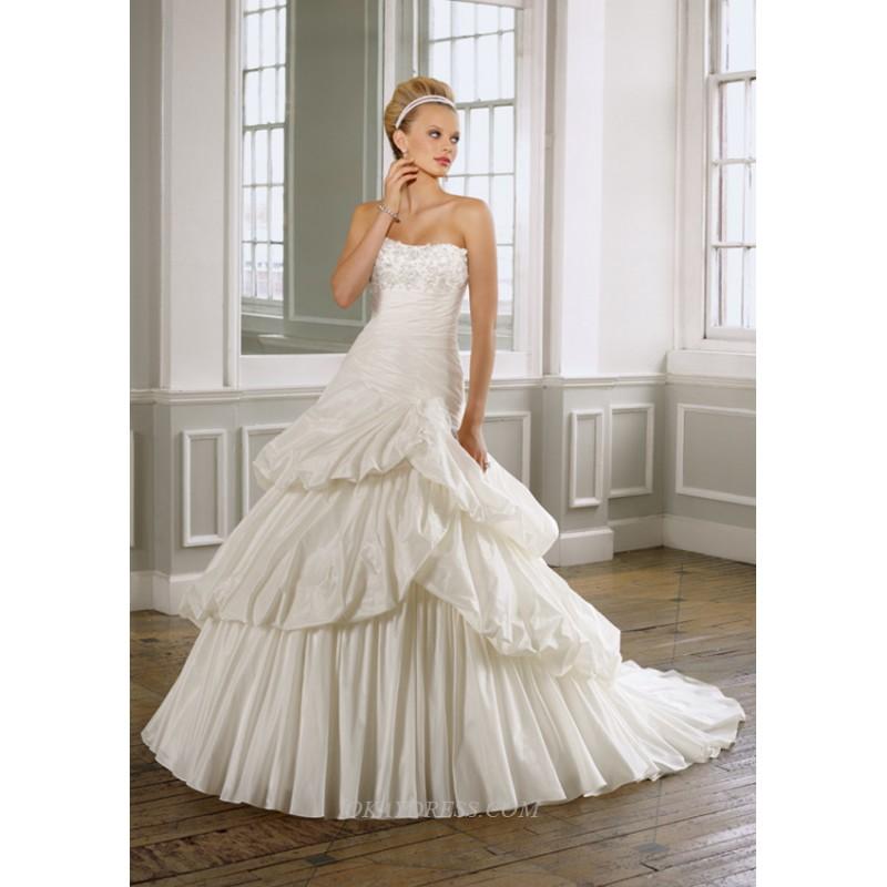 Casablanca 1607 Bridal Gown (2011) (CB02_1607BG) - Crazy Sale Formal Dresses|Special Wedding Dresses|Unique 2017 New Style Dresses