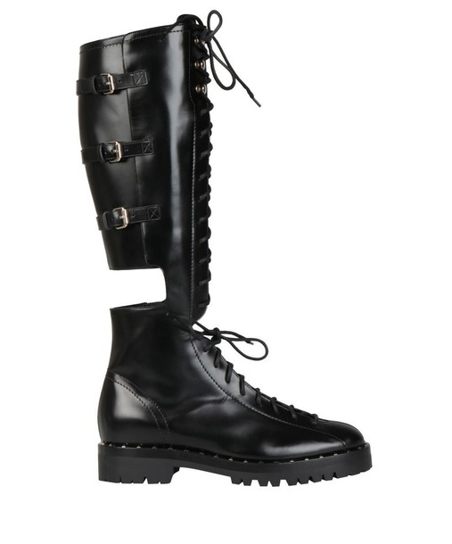 Valentino Garavani leather boots leather shoes